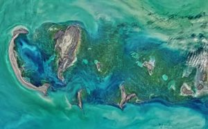 Снимок Каспийского моря